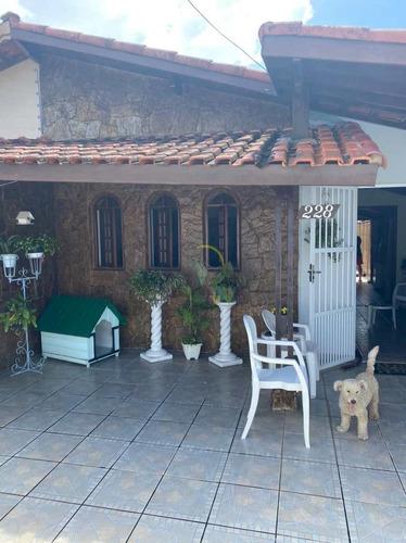 Imagem 1 de 14 de Casa Com 1 Dorm, Andaraguá, Praia Grande - R$ 220 Mil, Cod: 3064 - V3064