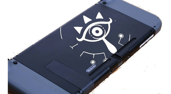 Zelda Breath Of The Wild Sheikah Sensor Nintendo Switch Wiiu