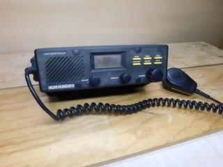 Humminbird Vhf Radio Dc-25r Con Soporte