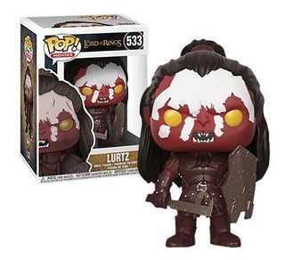 Funko Pop The Lord Of The Rings Lurtz 533 Mf