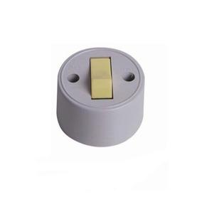 Interruptor Sobrepor Externo Redondo Ilumi 2p+t 10a