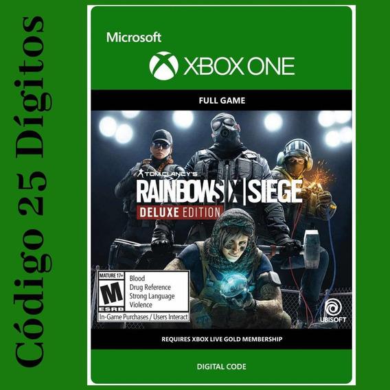 Tom Clancys Rainbow Six Ed. Deluxe Xbox One Código 25