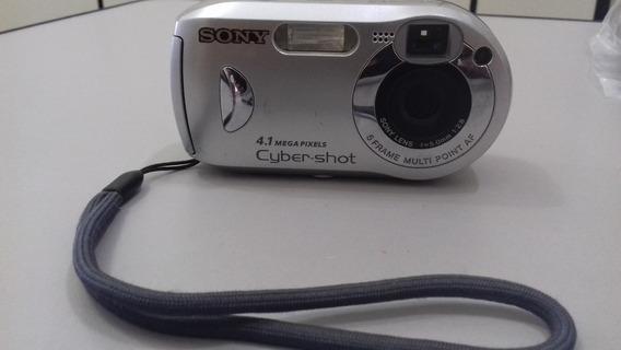 Camera Digital Sony Model Dsc-p41 Com Defeito No Display!!