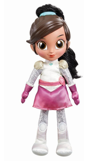 Boneca Nella Princesa Cavaleira Corajosa Fala E Canta - Dtc