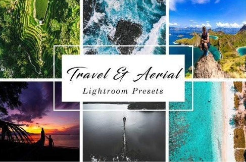 Presets Lightroom Travel & Aerial - Fotografia Aérea Drone