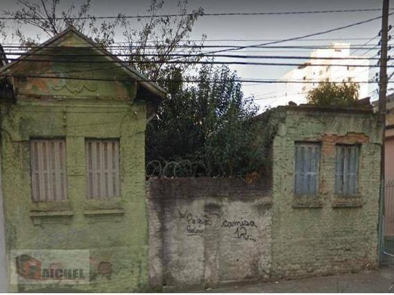 Terreno À Venda, 735 M² Por R$ 2.640.000 - Tatuapé - São Paulo/sp - Te0079
