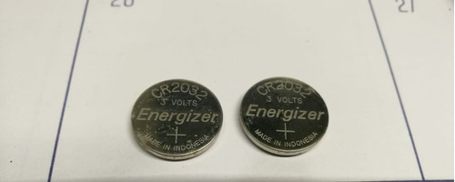 Imagen 1 de 1 de Baterias De Litio Cr2032 Nuevas Cod3243 Asch