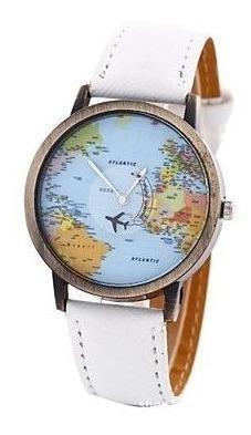 Relógio Mapa Mundi Tumblr- Envio Imediato