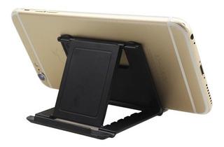 Suporte De Mesa Universal Celular Smartphone Tablet Compacto