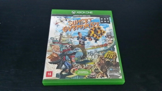 Sunset Overdrive Xbox One Mídia Física