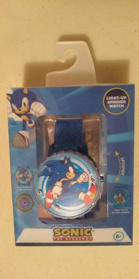 Reloj Sonic El Erizo Luces