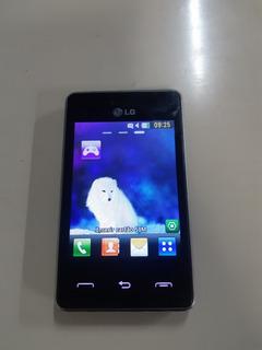 Celular Lg T375 Desbloqueado 2 Dual Sim Chip Sem Acessórios