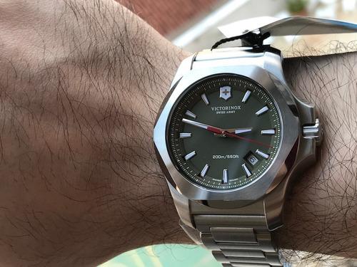 Relógio Victorinox Swiss Army Inox Green 241725.1