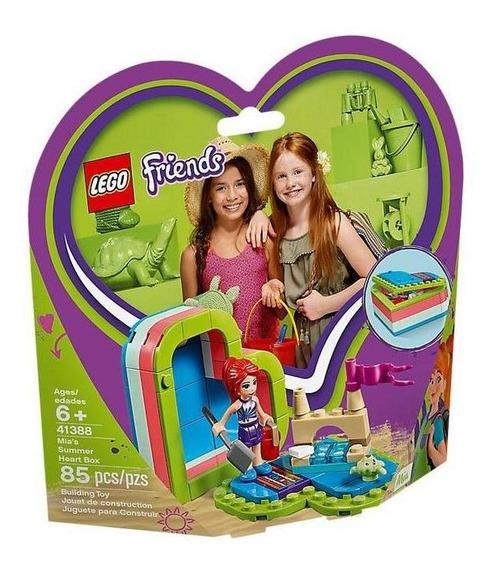 Lego Friends Caja Corazón De Verano De Mia 41388