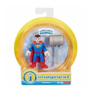Figura Superman - Fisher Price Dc Súper Friends Imaginext