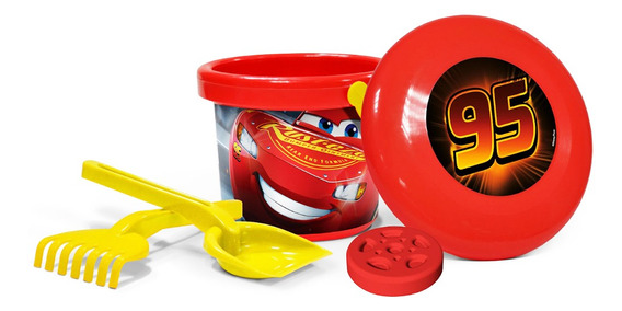 Set Playa Y Frisbee Cars Original