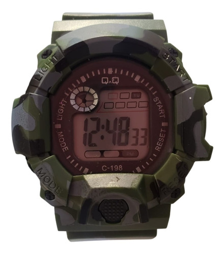 Reloj Digital Deportivo Para Niños Diseño Militar Envio