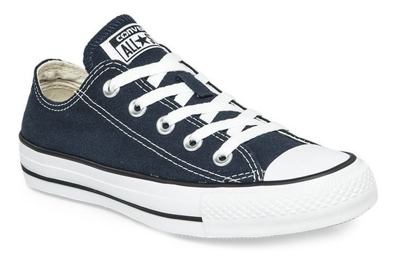 Zapatillas Converse All Star Azul Blanco! 100% Original