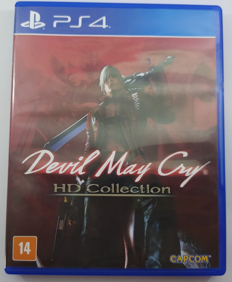 Devil May Cry Hd Collection Ps4 Usado Mídia Física
