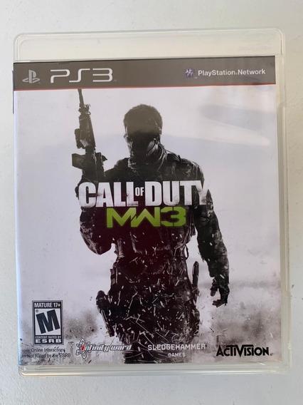 Jogo Call Of Duty Modern Warfare3 Ps3- Usado Original Física