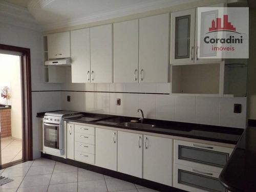 Imagem 1 de 30 de Casa Com 3 Dormitórios À Venda, 215 M² Por R$ 570.000,00 - Santa Cruz - Americana/sp - Ca0956