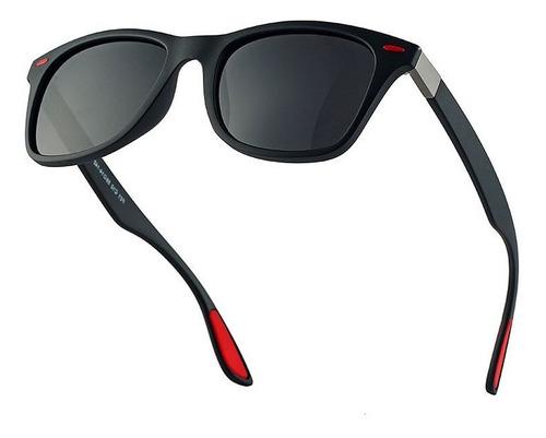 Imagen 1 de 9 de Gafas De Sol Deportivas Polarizadas Anti-uv De Moda Hombre