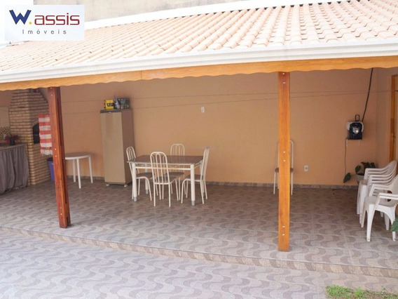 Ótima Casa, Jardim Laura, Campo Limpo Paulista 3 Dormitórios Sendo 1 Suíte, 1 Sala, 2 Banheiros, Copa E Cozinha Planejada - Ca00278