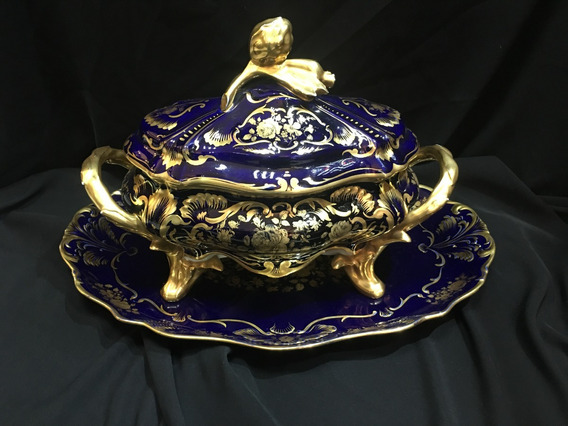 Sopera De Porcelana Limoges
