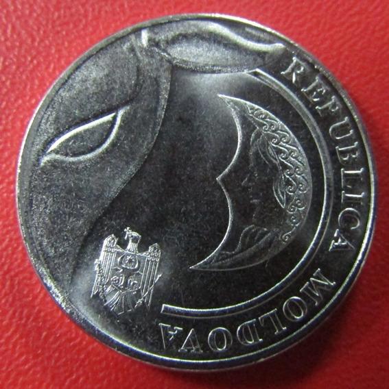 Moldavia Moneda 1 Leu Unc 2018 Sin Circular