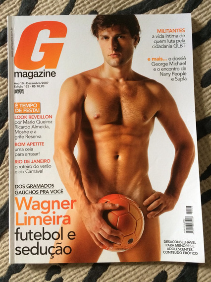 Revista G Magazine Wagner Limeira George M Kleber T Enzo Gat