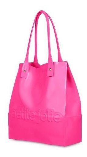 Bolsa Petite Jolie Shopper Bag Feminina Rosa Original