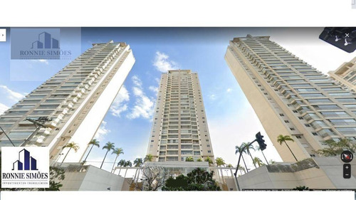 Apartamento Para Venda, Condomínio, Vista Golf, Santo Amaro, Em Frente Shopping Sp Market, 3 Suítes, 2 Salas, 181 M². São Paulo. - Ap0922