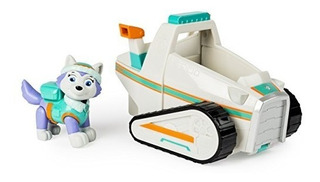 Paw Patrol Everest.s Rescue Snowmobile, Vehículo Y Figura