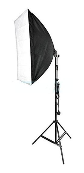 Kit Youtuber Iluminação Softbox 50x70cm E27 E Tripé