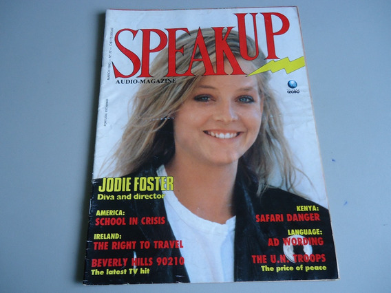 Revista Speak Up Nº 72 - Jodie Foster -