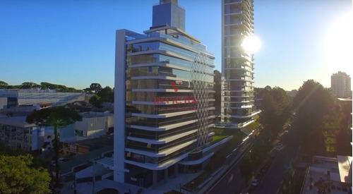 Sala Comercial À Venda Com 66.17m² Por R$ 450.000,00 No Bairro Campina Do Siqueira - Curitiba / Pr - Aa 1554