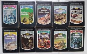 Super Lote De Livros Perry Rhodan Ediouro 1 Antigos Dec. 80