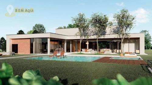 Imagem 1 de 30 de Casa Com 5 Dormitórios À Venda, 638 M² Por R$ 6.900.000,00 - Condomínio Terras De São José Ii - Itu/sp - Ca1519