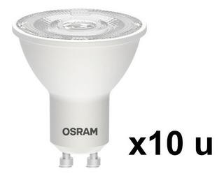 Lampara Dicro Led X10 Osram 6w 220v Gu10 Fría Elect. Ave.