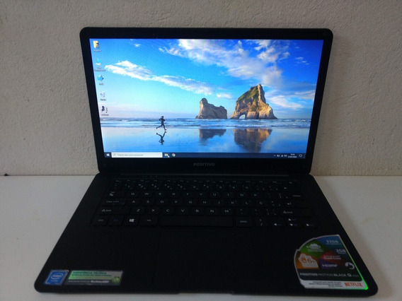 Notebook Positivo Motion Black Q232a 32gb 2gb Ram Tela 14 Po