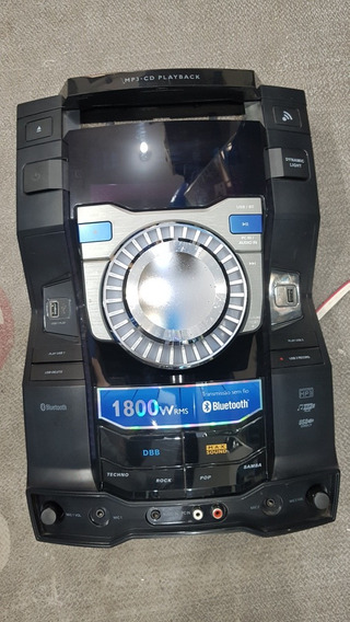 Painel Gabinete Frontal Do Som Philips Fwt9200