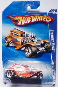 Straight Pipes Laranja Hot Wheels 2010