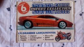 Album De Super Carros Import Collection Completo