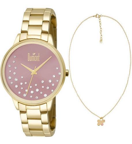 Relógio Feminino Dumont Analógico Fashion Du2036lsq/k4t