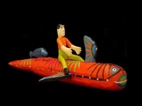 O Mundo Dos Sonhos De Mestre Zezinho - Escultura