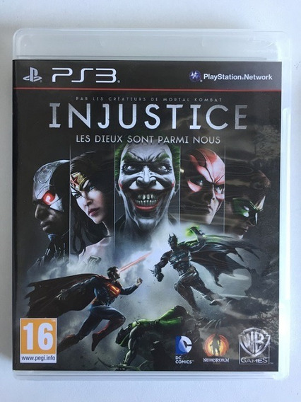 Ps3 - Injustice: Gods Among Us - Midia Fisica (original)