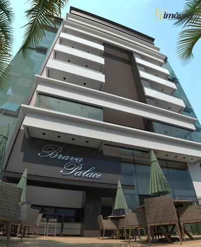 Brava Palace Residence - Apartamento A Venda Com 3 Suítes, 2 Vagas Na Praia Brava Em Itajaí - Sc - Ap2014