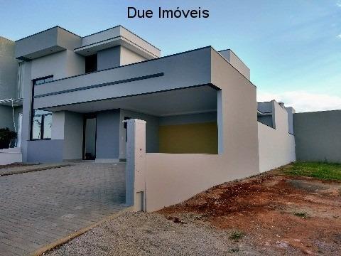 Casa Com Projeto Moderno No Dona Lucilla - Ca01208 - 32631929