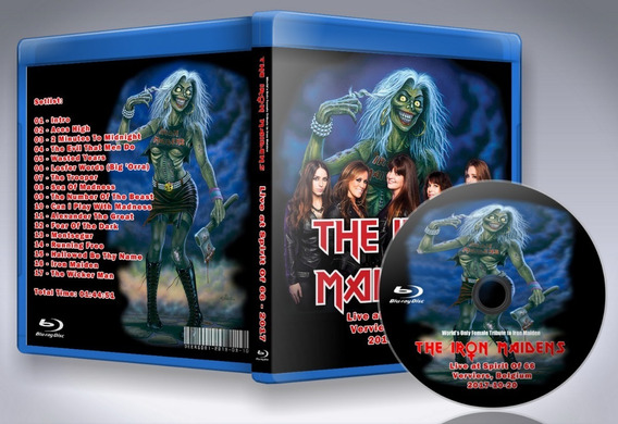 Blu-ray The Iron Maidens - Live At Spirit Of 66 2017