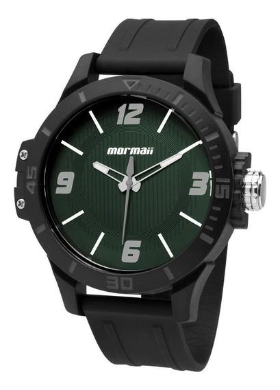 Relógio Mormaii Masculino Mo2035fl/8v Analogico Verde